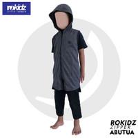 Rokidz Zipper Rompi Sholat dengan Hooide Untuk Anak by Rosal
