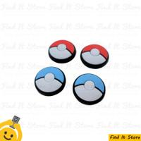 nintendo switch joycon thumb grip pokemon lets go (1 set 4 pcs)