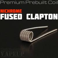 Ni80 Fused Clapton Coil for rda rdra rta merlin mini mage nichrome 80
