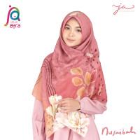 Jilbab Afra JA Signature Voal Segi Empat Hijab Instant Motif Nusaibah