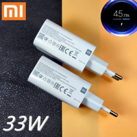 ORIGINAL ADAPTOR CHARGER XIAOMI REDMI NOTE 9 PRO 33W TURBO CHARGE