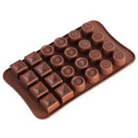 Cetakan Silikon / Cetakan coklat / Cetakan pudding / jelly