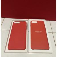 Iphone 7+ 8+ plus leather case kulit