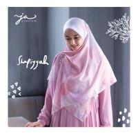 Jilbab Afra JA Signature Voal Segi Empat Hijab Instant Motif Shafiyyah