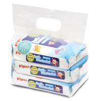 PIGEON Baby Wipes Anti Bacterial 20s Buy 2 Get 1 Tisu Basah Pigeon