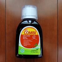 OBH Combi Batuk Plus Flu Rasa Menthol Obat Batuk Hitam Sirup 100 ml