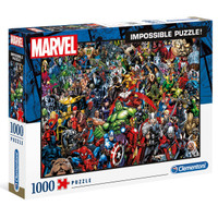 CLEMENTONI PUZZLE - IMPOSSIBLE PUZZLE MARVEL 1000 PCS
