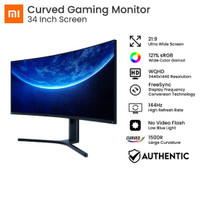 Gaming Monitor Xiaomi Curved 34 inch 144 Hz WQHD - Best Game Monitor