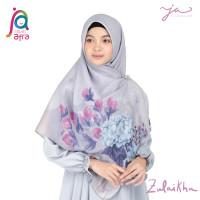 Jilbab Afra JA Signature Voal Segi Empat Hijab Instant Motif Zulaikha