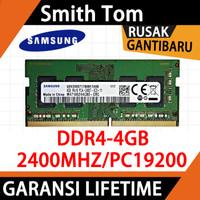 BARU RAM MEMORY SAMSUNG LAPTOP NB DDR4 4GB 2400mhz 19200 SODIMM