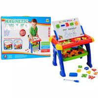 Mainan Edukasi Anak Meja Belajar Magnetic Laki Perempuan Murah Terbaru