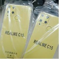 anti crack realme C15 softcase silicone anti crack realme C15