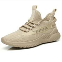 Sepatu Pria Sneakers Casual Flyknit PVC Import 2 Pilihan Warna