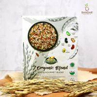7 Blend White Gourmet / Beras Putih Mix Organik 1kg - Bionic Farm