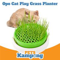 Opo Cat Cat Grass Planter Tempat tanam Rumput Kucing