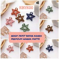 jepit korea matte jepit besar matte korea