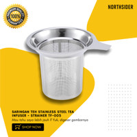 SARINGAN TEH STAINLESS STEEL TEA INFUSER - STRAINER TF-005