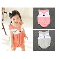 Romper Bayi Cewek Imut / Baju Kodok Anak / Jumper Bayi Lucu