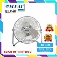 Sekai 2in1 high velocity fan HFN1050/kipas angin besi meja dinding 10