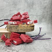 FUSE HOLDER BOX DX CERAMIC - RUMAH SEKRING TANCAP / TUSUK KERAMIK RED