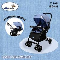 Stroller Labeille BONN T106 - Kereta Dorong Bayi 2 Arah, Ringan 7kg
