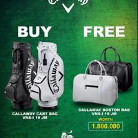Promo Bundle Callaway Buy Cart Bag Free Boston Bag Callaway - Tas Golf