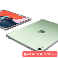 New Ipad Air 4 2020 10.9 Inch SBT002 Silikon Anti Crack Bening Clear