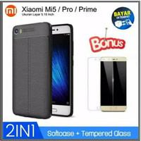 Case Xiaomi Mi5 Casing Slim Hp Back Covers + Tempered Glass Mi 5 Pro