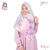 Jilbab Afra JA Signature Voal Segi Empat Hijab Instant Motif Balqis