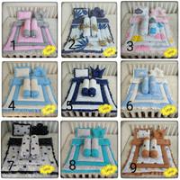 Selimut bayi kain katun catra-Bantal guling bayi set -Bedding set bayi