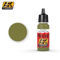 AK 3115 Green Uniform Lights - Model Kit Figure Soldier Military