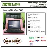Lenovo ThinkPad T410 |Core i7-Gen 1 |Camera |VGA NVIDIA NVS ( 512 MB ) - RAM 4-HDD 500
