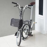 Tas Sepeda Lipat Front Block / Tas Brompton