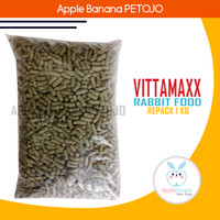 Makanan Kelinci VITTAMAXX Rabbit Food Repack 1kg - Vitamax 1 Kg