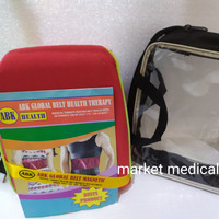 Bantal Panas Sauna Belt Global ABK/Global Belt Magnetic Bonus Tas