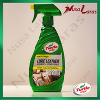 Turtle Wax Quick And Easy Luxe Leather Cleaner And Conditioner 473 ml