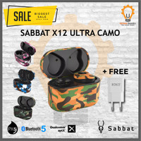 SABBAT X12 Ultra Camouflage AptX Qualcomm Bluetooth 5.0 TWS Headset