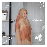 Jilbab Afra JA Signature Voal Segi Empat Hijab Instant Motif Zainab