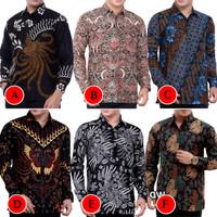 Kemeja Batik Pria Murah Lengan Panjang | Baju Batik Pria | Kemeja Pria