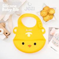Baby Bib Celemek Bayi JEZI Silikon Bpa Free