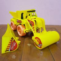 Mainan Mobil Truk Road Roller - Mainan Mobil Truk Bangunan Kontruksi