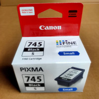 TINTA CATRIDGE CANON PG-745s black,small for,pixma,ip2870s,MG2570s....