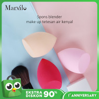 Marvilo Sponge Beauty Blender Bentuk Miring - Merah