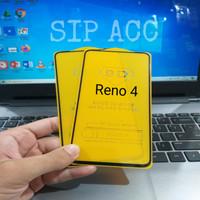 Tempered Glass Oppo Reno 4 / Reno 4F / Reno 4 Pro Full Cover