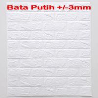 Wallpaper Dinding 3D 70 X 77 cm - 3D Foam 3mm