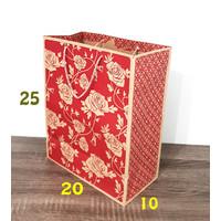 paper bag batik paperbag motif tas kertas kraft samson 20x25 goodiebag