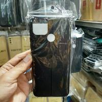 auto focus case realme C12 tpu leather sarung hp kulit jeruk