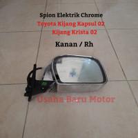 Spion Chrome Elektrik 1pc Kanan Kijang Kapsul Krista 02