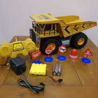 Mainan RC Car Dump Truk Jumbo - RC Dump Truk Mobil Bak