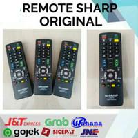 REMOTE SHARP TV LED LCD TABUNG ORIGINAL